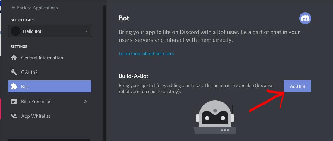 Create bot